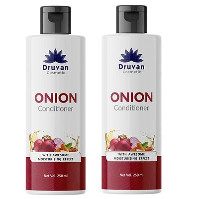 Onion Conditioner For Hair Growth Control Hair Fall - Pack Of 2 (250 ml)