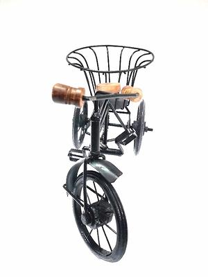 antique handicraft wooden iron cycle for home decor and gift