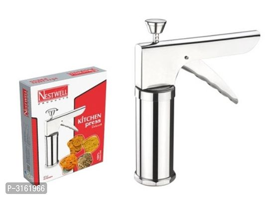 Stainless Steel Kitchen Press  with 15 Interchangeable Blades