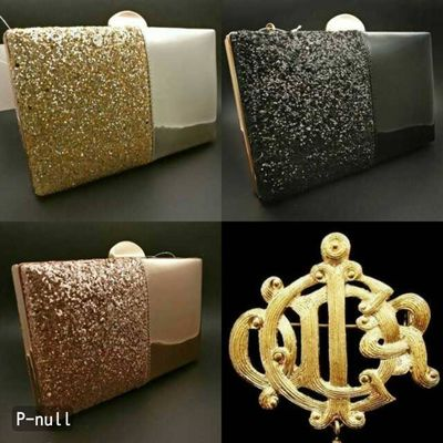 Elegant evening clutches