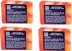 ABSOLUTE BEAUTY CITRUS GLYCERINE SOAPS - PACK OF 4 NOS
