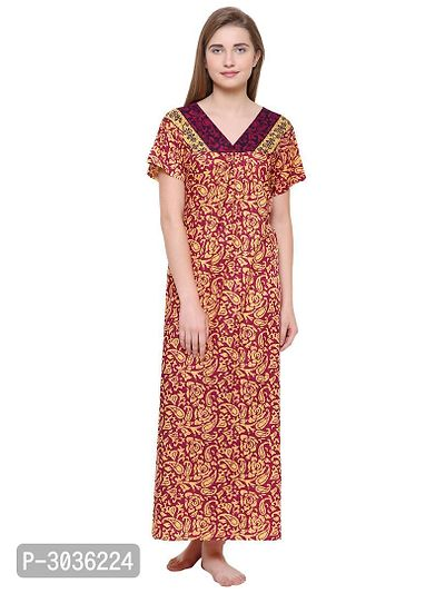 Cotton Printed Night Wear