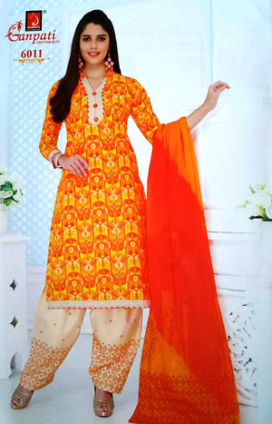 Cotton Salwar Unstitched Materials