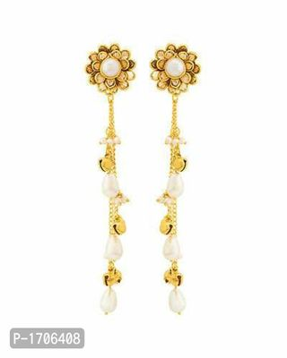 pearl tasseled floret earrings at lowest prices from top suppliers