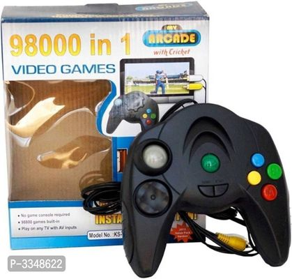 98000 in 1 Instant TV Video Games - Plug in TV and Play