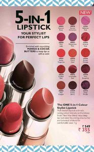 The One lipstick