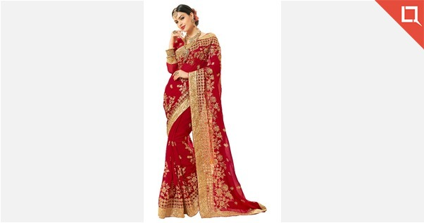 superb-red-colored-embroidered-wedding-saree-1209