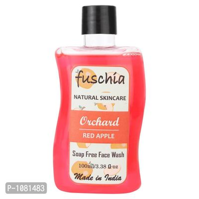 Orchard Red Apple Soap Free Face Wash