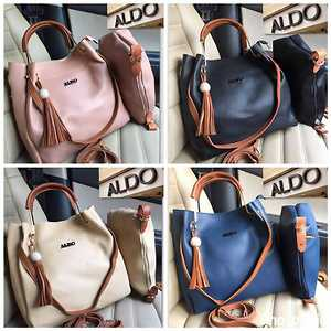 ALDO🎀🎀❤  BAG IN BAG🌺✌  👉GUENIUEN ITALY LEATHER 👈  ✔GOOD QUALITY BEST PRICE  ✔ READY STOCK  ✔ TRUSTED SELLER