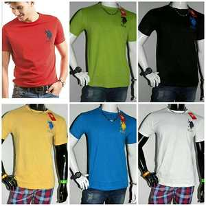 Brand - *U S Polo*, *puma* , *harlry* , *being human* , *Levi's*  Fabric - *100% cotton*  Size -  *M* only👈