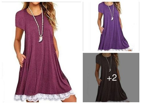 imported-fancy-cotton-solid-a-line-dress