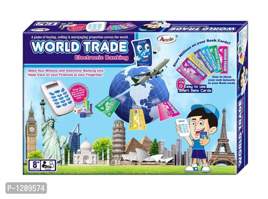 World Trade Electronic Banking Unit Board Game