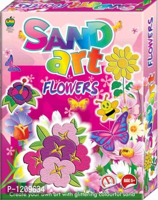 Fun Sand Art Flowers