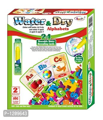 2 In 1 Water And Dry Alphabets