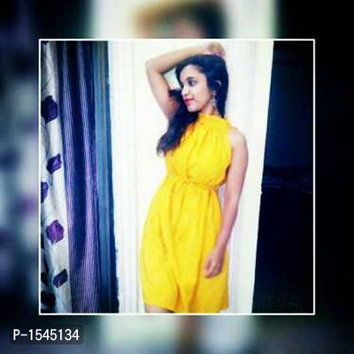 yellow dress for party , birthday etc