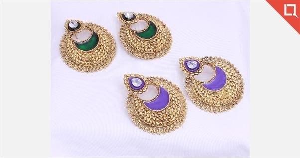 Bollywood Designer Combo Of 2 Set Earring For Women