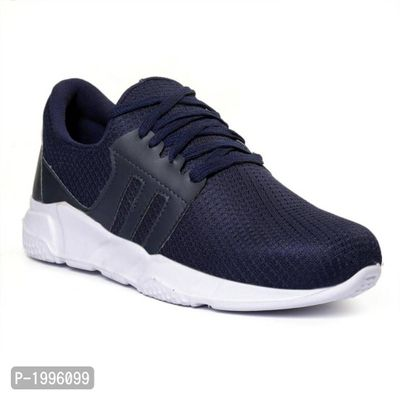 Blue Trendy Sports Running Shoes