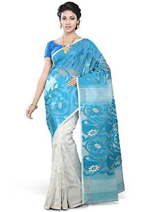 Dhakai jamdani Cotton silk /-🌷🌷