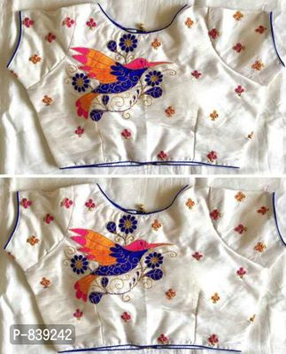 Stitched blouse