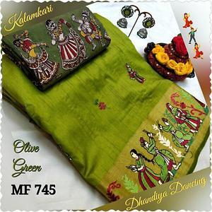 MF745- Dhandiya Dancing Tussar Silk