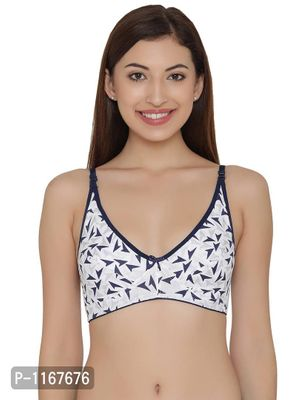 Cotton Non-Padded Non-Wired Printed Bra
