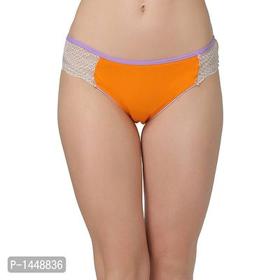 Orange Cotton Bikini