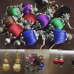 Silk thread jewellery  by Manjubala Thanushkodi's Shop