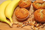Banana Walnut  Muffins