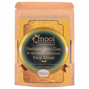 RADIANT SKIN CLAY & ACTIVATED CHARCOAL FACE MASK