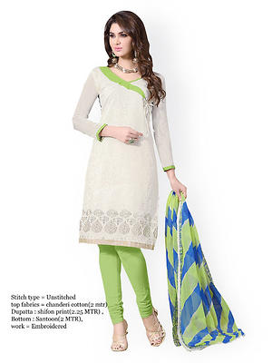 exclusive embroidered dress material by decent world