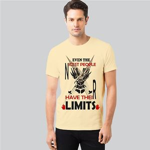 Men Anime T-shirt - Nicest People Limits