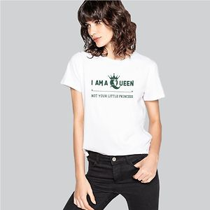 Women Queen T-Shirt - I am a queen