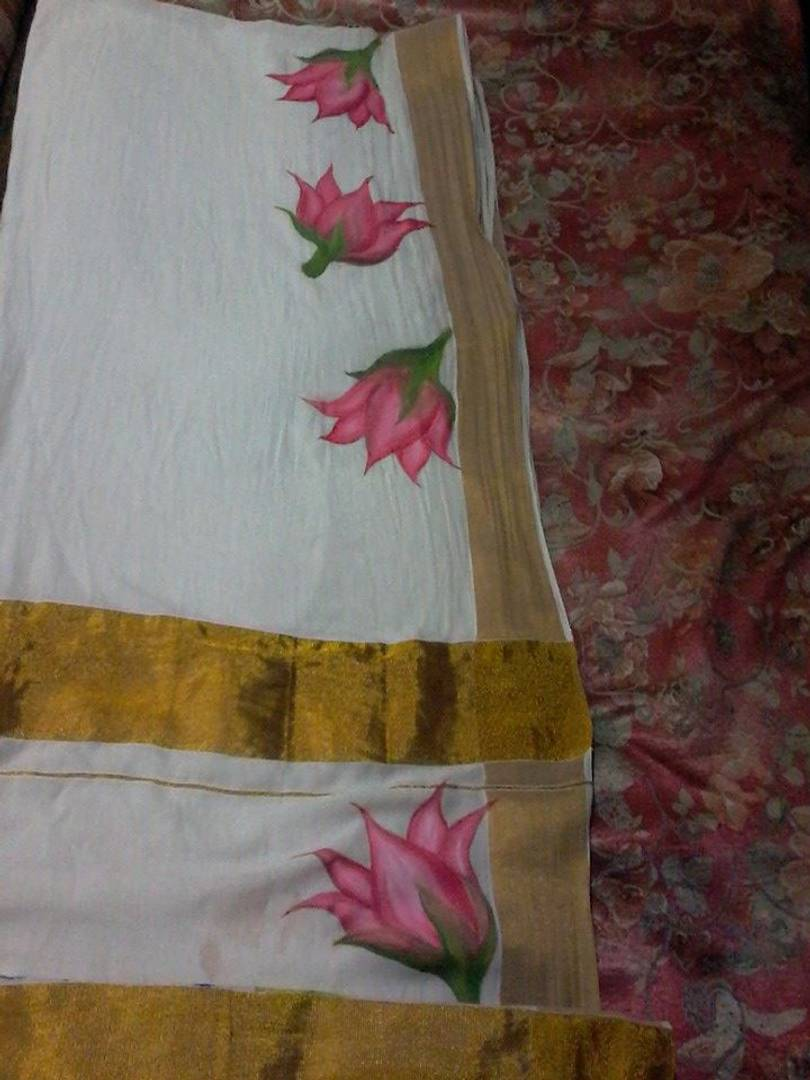 I do fabric nd mural painting in reshma mumbai for sale for Aithihya mural painting fabrics