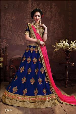 Stylish women wear lehenga 4234bk10293