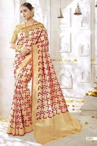 Silk women wear saree 4277bk2201