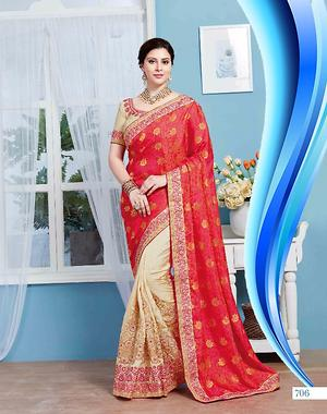 Women wear half saree 4279bk706