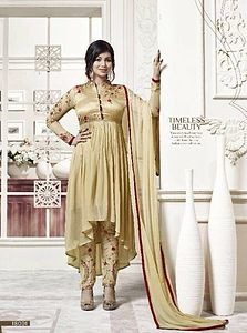 Fancy design Georgette with embroidery Salwar Suit 4809BK18001