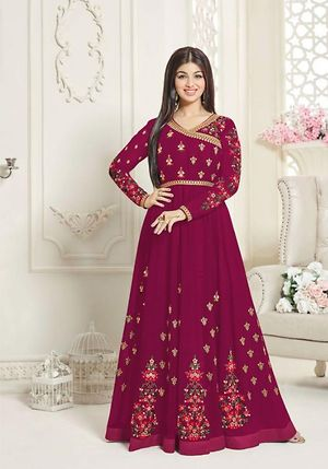 Stylish wholesale supplier of aashirwad suits exporter  4883BK1004d
