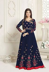 Trendy fashion wholesale supplier of aashirwad suits exporter  4883BK1004a