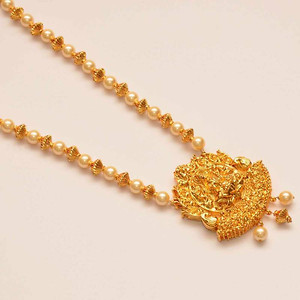 golden temple necklace with bangle