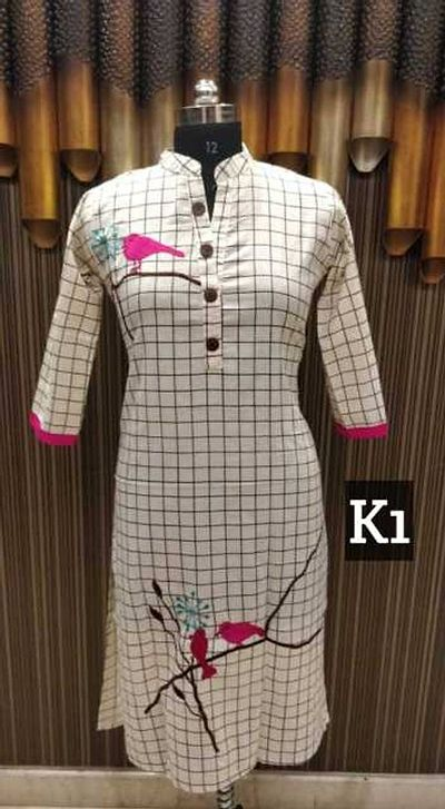 Cotton flex kurtis