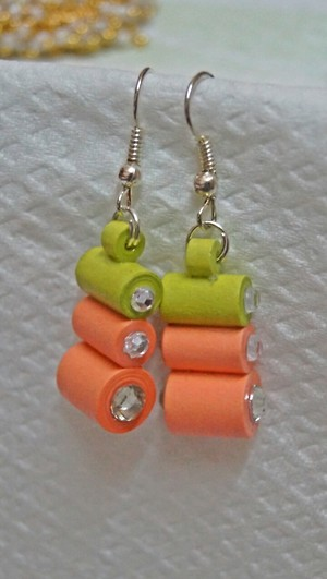 Happy Colours Hanging Earrings