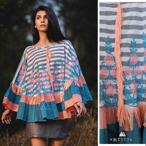 Latest collections of New Khadi PONCHOS- whatsapp me on 9699061371 for more details
