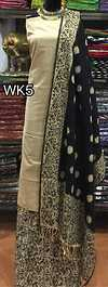 kalamkari work done pure handloom cotton ikkat dupatta teamed up with kalamkari cotton bottom & handloom cotton top Note**colours may vary slightly from the photograph. rs 1650+$ Available in Multiples