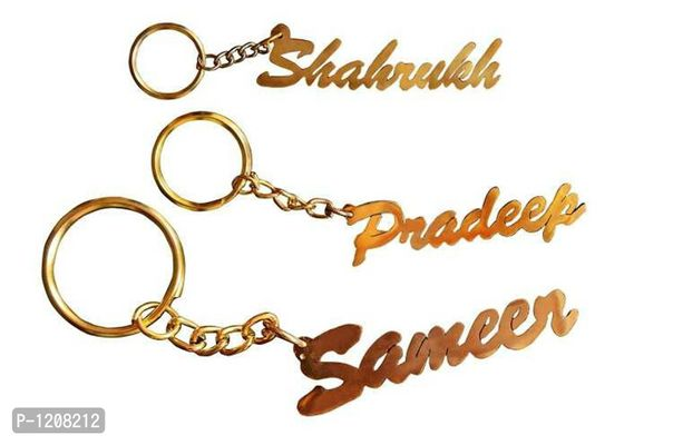 personalized keychain with your name