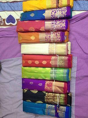 gadwal and paithani pure silk