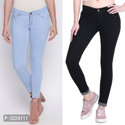 Silky Jeans For Women's Combo