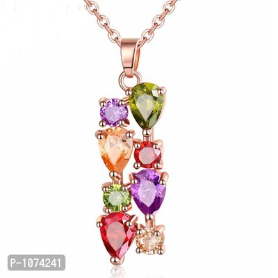 18K Rose Gold Plated Pendant