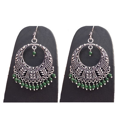 Green Gold Plated Chandbalis