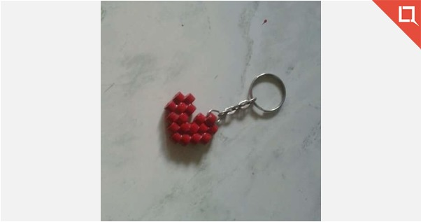 Paper Quilling Keychain